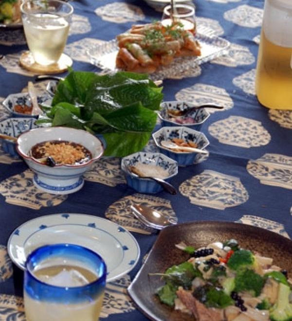 monthly lessons タイ料理